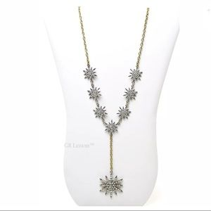 SOLE SOCIETY CELESTIAL STATEMENT LARIAT NECKLACE